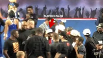 Floyd Mayweather Blows Up at Cheer Judges ... You Cheated My Daughter! (VIDEOS)