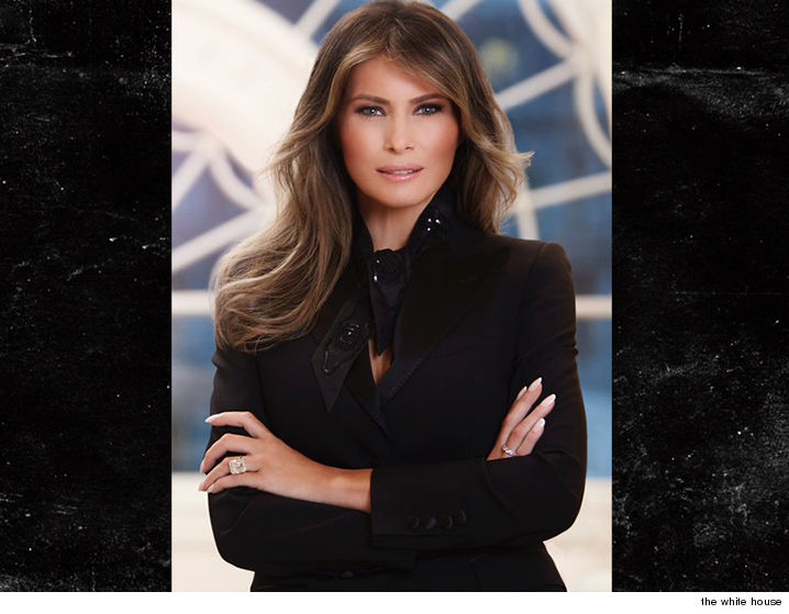 Melania Trump Reporting For First Lady Duty