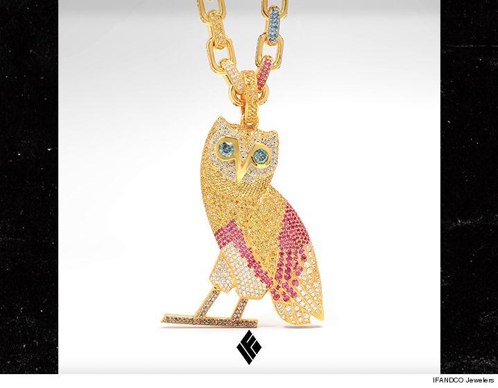 Drake Buys New $120k OVO Chain | TMZ.com