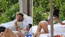 Kourtney Kardashian Reminds Scott Disick What He's Missing on Hawaiian Family Vacation (PHOTO GALLERY)