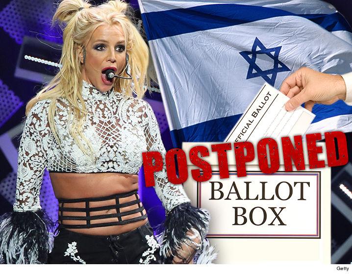 Britney Spears Concert Delays Israeli Election | TMZ.com Britney Spears Tickets