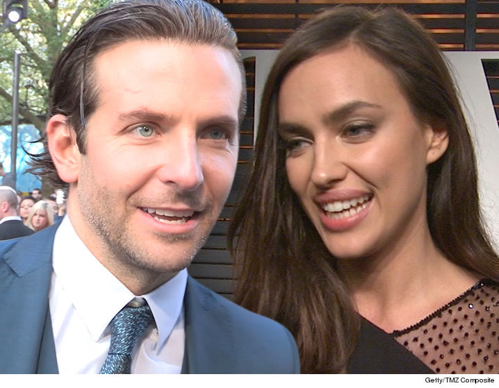 Bradley Cooper & Irina Shayk Welcome First Child class=
