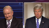 'SNL'  Spoof of Bill O'Reilly and Donald Trump Both Played by Alec Baldwin (VIDEO)