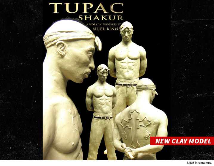 Tupac Shakur Will be Immortalized With $500000 Bronze Statue in Georgia