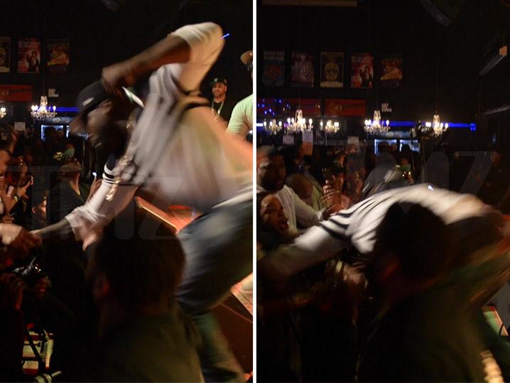 50 Cent Punches Super Aggressive Fan (VIDEO)