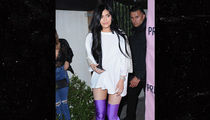 Kylie Jenner's Boots are Made For Walking Over Tyga (PHOTO)