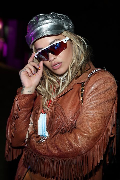 Rita Ora attends the Midnight Garden After Dark at the NYLON Estate on April 14, 2017 in Bermuda Dunes, California.
