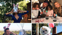 Easter Brings Hollywood's Families Together (PHOTO GALLERY)