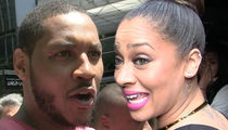 Carmelo Anthony Allegedly Knocked Up Dancer and La La is Pissed