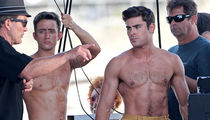 Zac Efron's Butt Double Ordered to Stay Away from Baby Mama (PHOTOS)