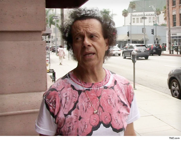 Richard Simmons hospitalized in California, battling severe indigestion