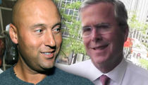Derek Jeter Reportedly Teams Up with Jeb Bush to Buy Miami Marlins