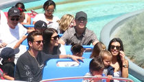 Kourtney Kardashian Throws Kid-Friendly 38th Birthday Party at Disneyland (VIDEO)