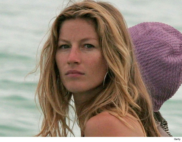 Gisele Tweets Anti-Trump Protest as Brady Bails on White ... Gisele Bundchen