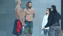 Jason Momoa Is a Shirtless Wonder Down Under (PHOTO)