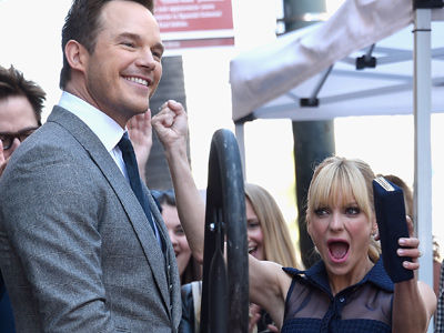 Chris Pratt and Anna Faris' Son Jack Steals Show at Actor's Walk of Fame Ceremony -- This Kid's…