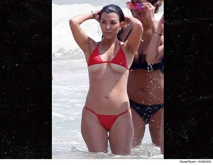 Kim Kardashian Shuts Down Criticism Of Her Latest Bikini Photos