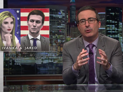 John Oliver Rips Into Ivanka and Jared, Thinks They're Like an American Will & Kate