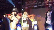 Lil Wayne Gets Pissed, Ends Concert After Thrown Drink Nearly Hits Him