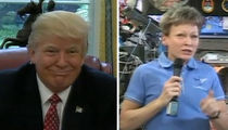 President Trump Tells Astronaut 'Better You Than Me' on Drinkable Urine (VIDEO)
