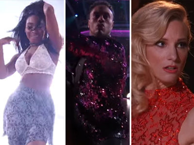 Huge 'DWTS' Shocker: Perfect Score Leads to Elimination -- Best & Worst Dances!