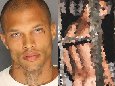Hot Mugshot Guy BARES HIS BUTT In First Cover Shoot -- And Talks Gang Past with the Crips!