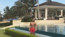 Drake Getting Some R&R in the DR