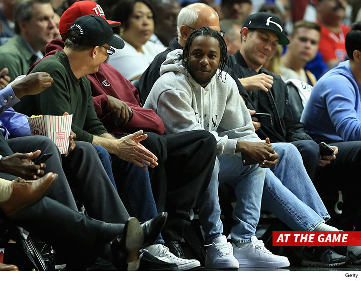Image result for The Clippers with Kendrick Lamar