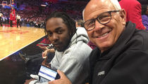 Kendrick Lamar Praised By LAPD Commissioner After Meeting at Clippers Game