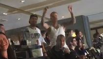 Justin Bieber Dances to Kendrick Lamar's Song at Clippers Game