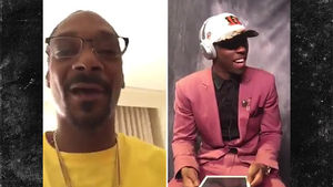 John Ross Gets Emotional NFL Draft Shout Out from Snoop