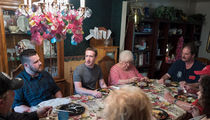 Mark Zuckerberg Surprises Ohio Family Who Voted for Trump at Their House for Dinner