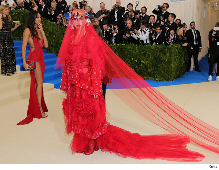Kardashian West, Rihanna, Pharrell, Madonna on the Met Gala red carpet