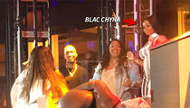 Blac Chyna Judges Twerking Contest in Atlantic City