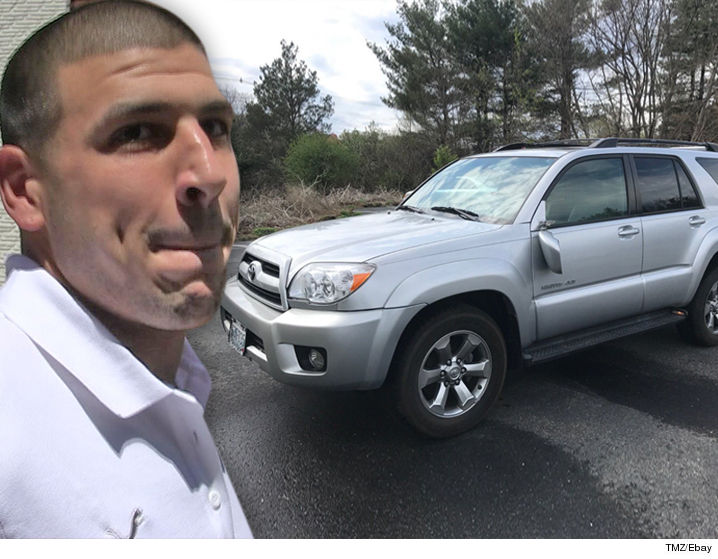 Aaron Hernandez Car For Sale On Ebay