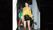 Kendall Jenner Leaves Half Her Skirt and A$AP Rocky Behind at Met Gala After-Party (PHOTO)