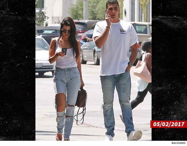 Kourtney Kardashian spotted lunching with hot 23-year-old model