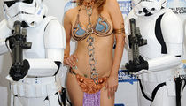 Guess the Celebrity Princess Leia in the Sexy Slave Costume
