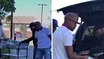 Floyd Mayweather's Money Run for His New Strip Club Is Insane!!!! (VIDEO)
