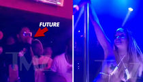 Future Gets On the Mic at Strip Club, Way More Than Masks Come Off (VIDEO)