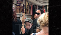 Angelina Jolie Hits Renaissance Faire with Daughter Shiloh, Sans Brad Pitt (PHOTOS)