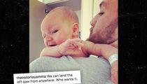 Conor McGregor Jr. Baby Photo, Mean Muggin' For Daddy!