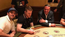 Canelo Alvarez Hits Blackjack Tables With Luis Miguel Fresh Off Chavez Jr. Win (PHOTO)