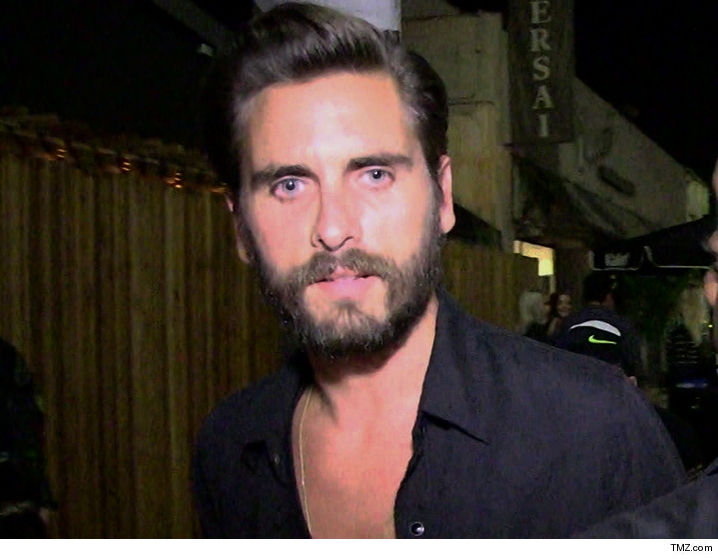 Scott Disick Partying Hard Again After Kourtney & New BF Pack On PDA