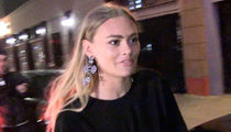 Scott Disick's New Girl Ella Ross Hitches a Ride from S.D.'s Driver (VIDEO)