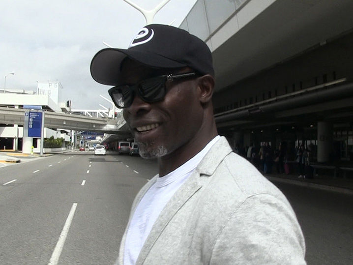 Djimon Hounsou Liked Working with David Beckham on 'King Arthur' but Won't Coach Him (VIDEO)