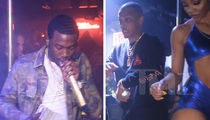 Meek Mill Blows $20k in Nightclub Turn Up with T.I. (VIDEOS)