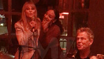 David Foster & Christie Brinkley Sing at TMZ Photog's Birthday Party (VIDEO)