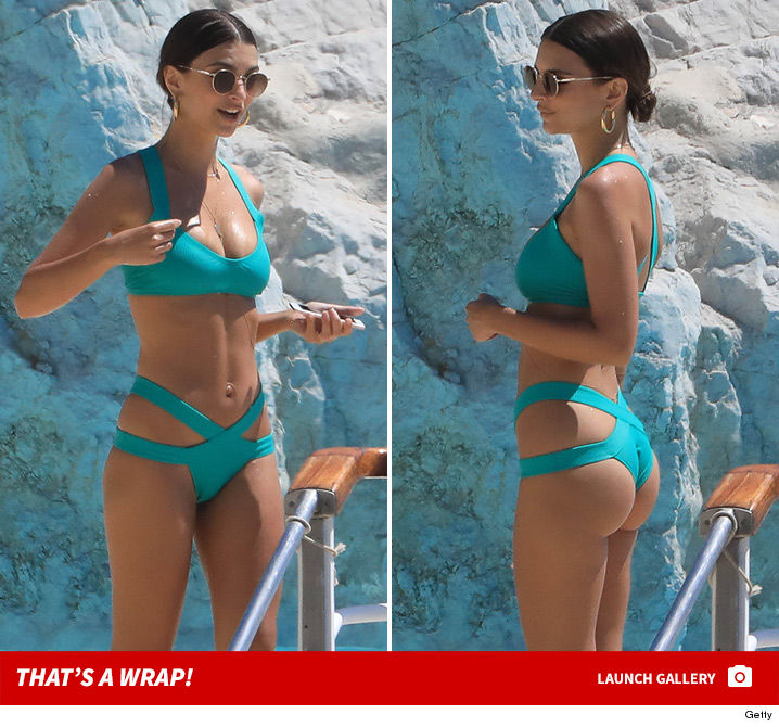 Emily Ratajkowski Cannes Do No Wrong Wrapped Up In Her ...