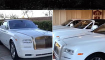 Floyd Mayweather Keeps $3 Mil Rolls-Royce Collection at Miami Mansion (VIDEO)